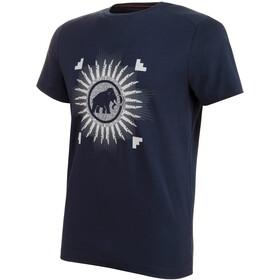 Mammut Trovat T-Shirt Heren, marine PRT1